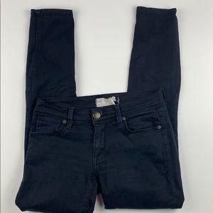 Free People Skinny Stretch Jeans in Black